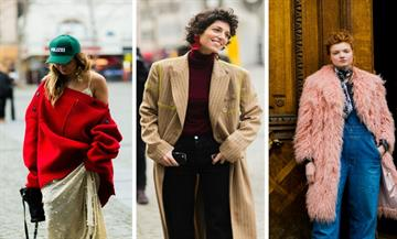 Paris Fashion Week A/W17:Street style looks