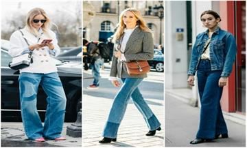 Street style: 10 spring alternatives to skinny jeans.