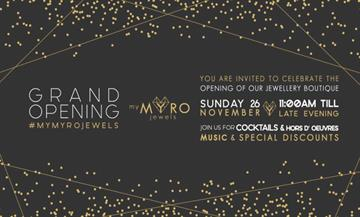 Grand Opening: My MYRO Jewels στη Λεμεσό