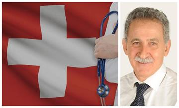 Who is Dr. Dinos Xydas of Swiss Biological Medical Center?